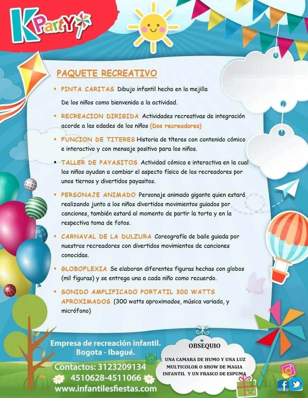 Decoración para Festas Infantiles