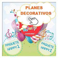 Creativas decoraciones para Fiestas Infantiles Bogota