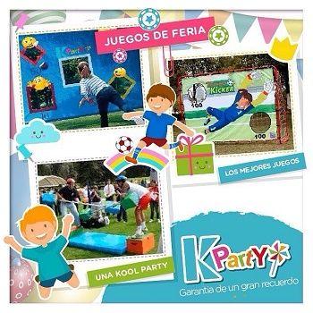 Juegos de Feria para Fiestas Infantiles